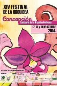 XIV Festival de la Orquídea de Concepción: 17, 18 y 19 de octubre